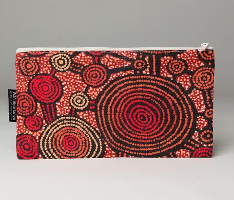 Warlukurlangu Artists Cotton Zip Bag