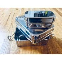 Stainless Steel Tuck-A-Stacker Lunch Box