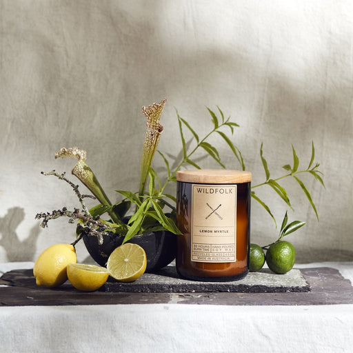 Wildfolk Candle Lemon Myrtle