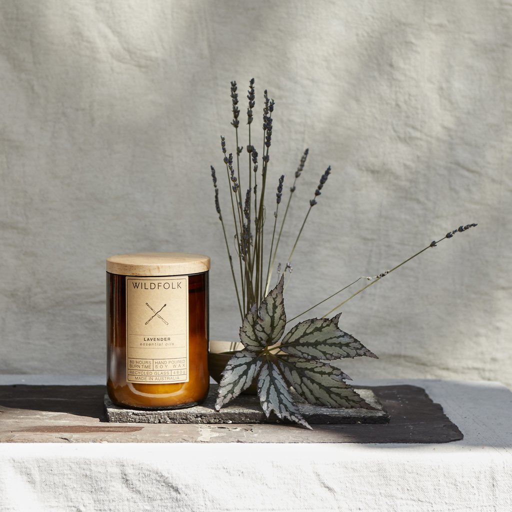Wildfolk Candle Lavender