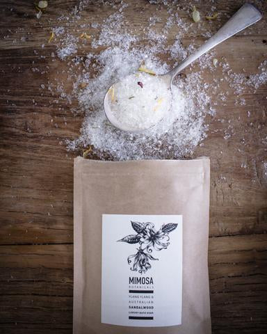 Mimosa Botanicals Luxury Bath Soak 250gm Sachet