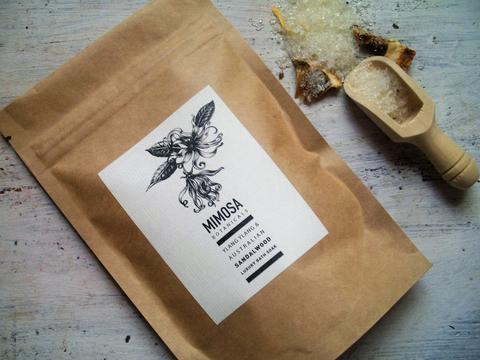 Mimosa Botanicals Luxury Bath Soak 125gm Sachet