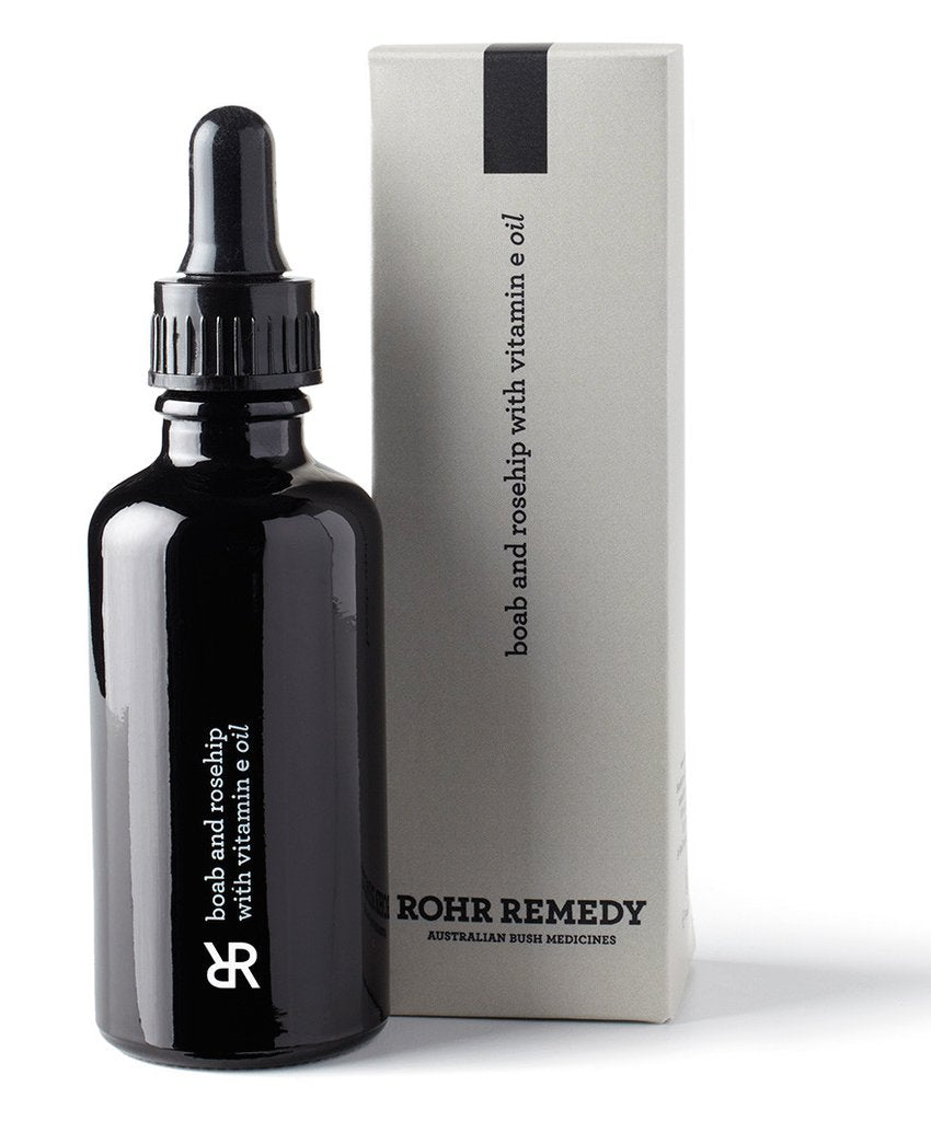 Rohr Remedy Boab & Rosehip with Vitamin E Oil