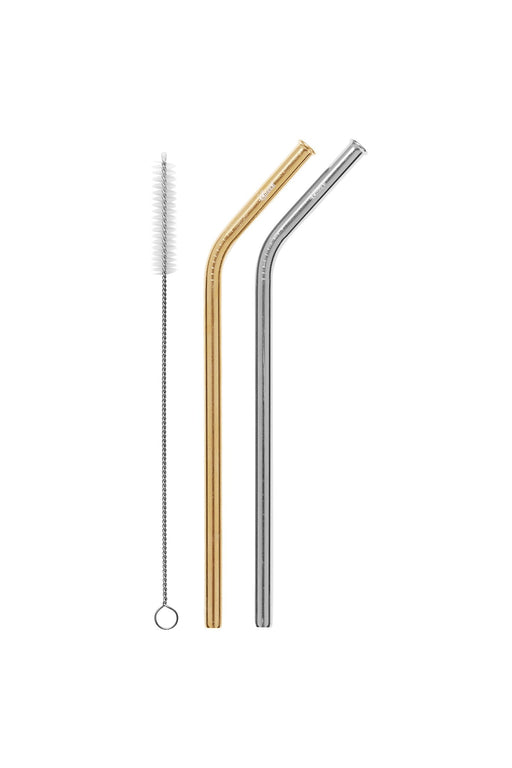 Cheeki Stainless Steel Drinking Straws 2 Pack