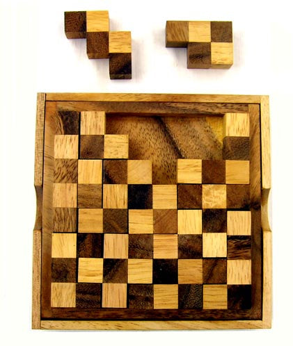 Timber Game - Chess Puzzle Box