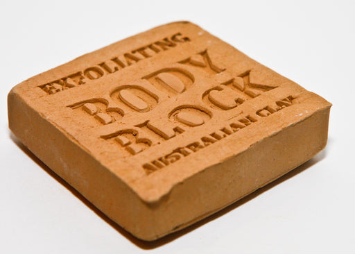 Australian Clay Exfoliating Block