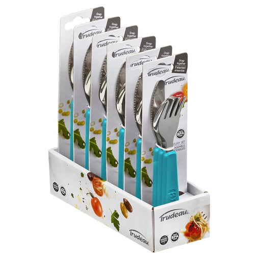 Snap-Together Cutlery Set