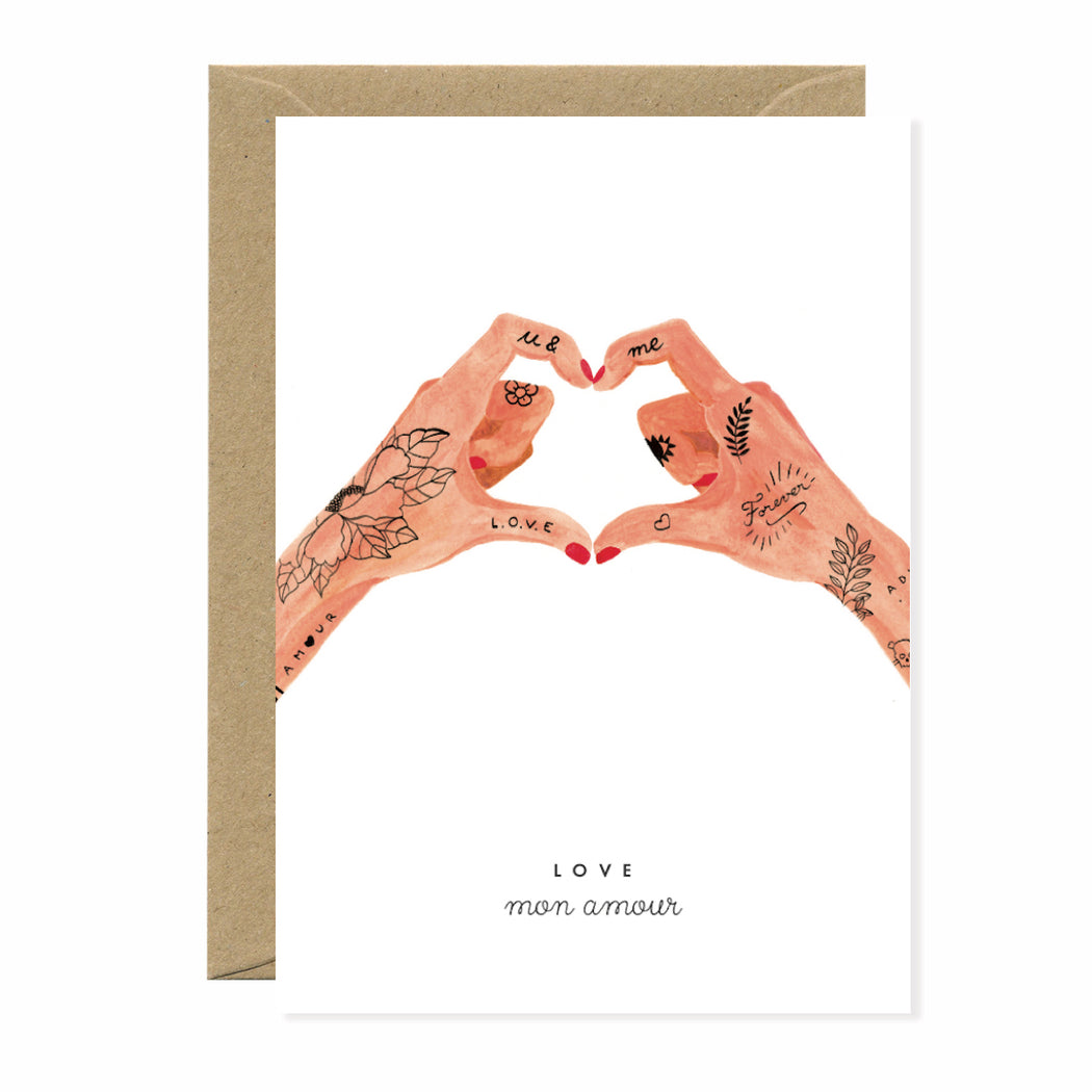Love Mon Amour Card