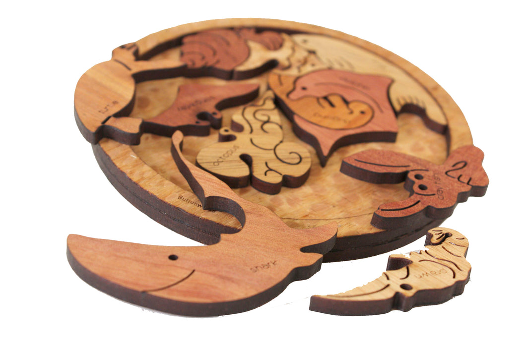 Buttonworks Timber Marine Puzzle