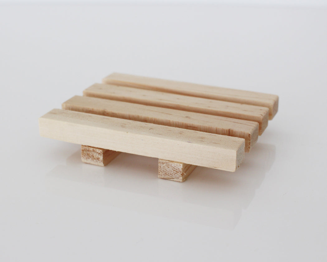 Raw Timber Soap Rack
