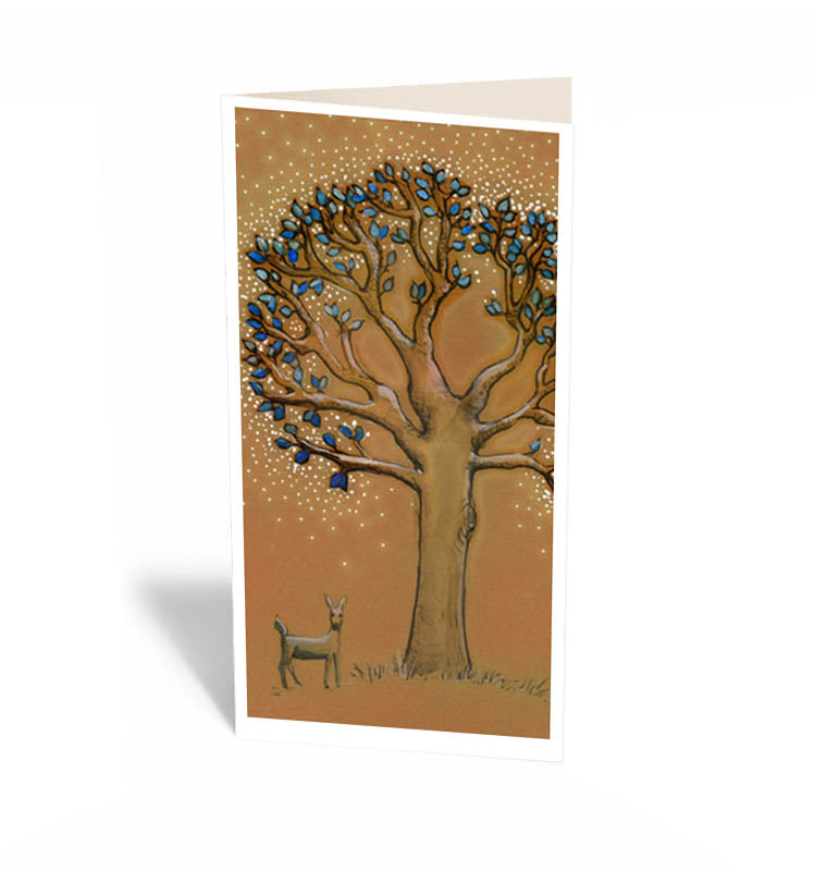 Merry Go Round Tree Card