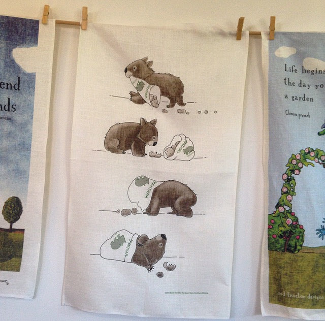 Limited Edition Trentham Linen Tea Towel - SOLD OUT