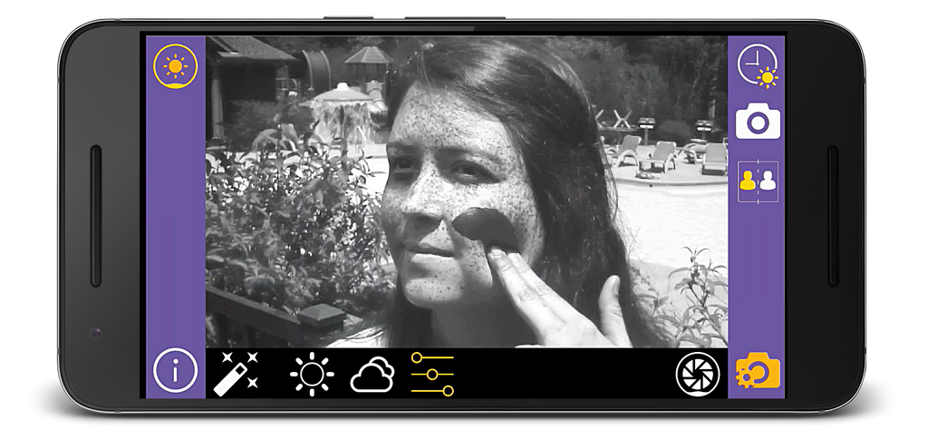Sunscreenr UV Camera for Android is now shipping!
