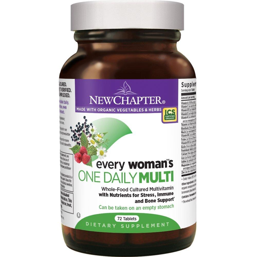 New Chapter Every Woman's One Daily Multi - 72 Count