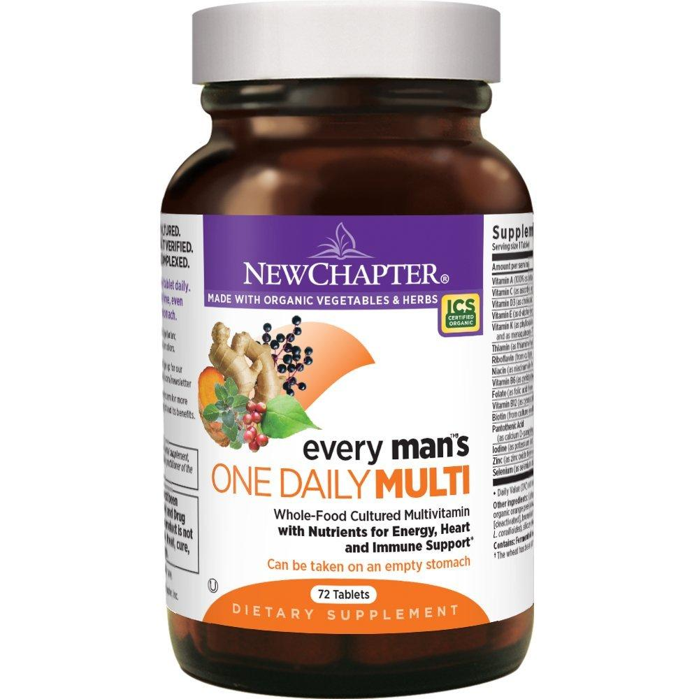 New Chapter Every Man's One Daily Multi - 72 Count