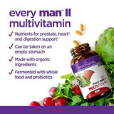 New Chapter Every Man II 40+, Men's Multivitamin Fermented with Probiotics + Selenium + B Vitamins + Vitamin D3 + Organic Non-GMO Ingredients - 96 Tablets