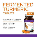 New Chapter Organic Turmeric Supplement - Fermented Turmeric Tablet for Brain, Heart and Inflammation Support - 48 Tablets
