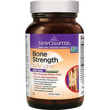 New Chapter Bone Strength Calcium Supplement with Vitamin K2 + Vitamin D3 + Magnesium - 90 Count
