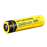 Nitecore NL1826/NL186 2600mAH 18650 Li-on Rechargeable Battery 3.7V