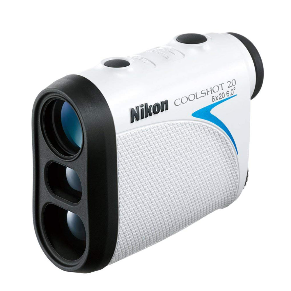 Nikon Coolshot 20 Golf Laser Rangefinder Lightweight, Compact and Rainproof