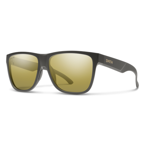 Smith Optics Lowdown XL 2 Matte Gravy Frame with Polarized Gold Mirror Carbonic Lens
