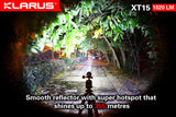 Klarus XT15 Falcon Rechargeable Flashlight