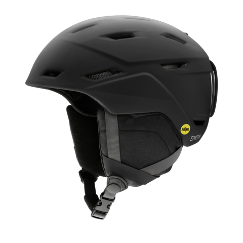 Smith Optics Mission MIPS Snowboarding Helmets, Matte Black '21
