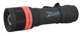 Nebo 5947 Zoom 130 370 LUX LED Flashlight Red