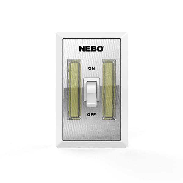 Nebo 6523 Flipit 2 Pack Mount Anywhere LED Light Switch