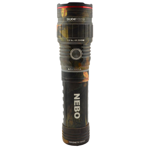 Nebo Slyde King 500 Lumen Rechargeable Work Light and Flashlight 6754 (Camo)