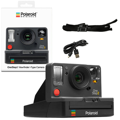 Polaroid OneStep 2 Viewfinder i-Type Instant Camera - Graphite