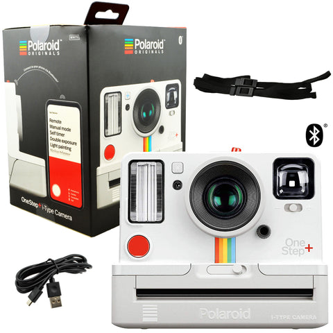 Polaroid Originals 9015 OneStep+ i-Type Instant Camera Bluetooth Connected White