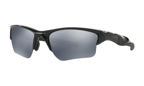 Oakley Half Jacket 2.0 XL Sunglasses Black Iridium Polarized Lens Polished Black Frame Standard Fit - 009154-05