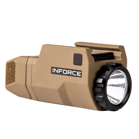 Inforce APLc Glock Compact LED Auto Pistol Light - Flat Dark Earth