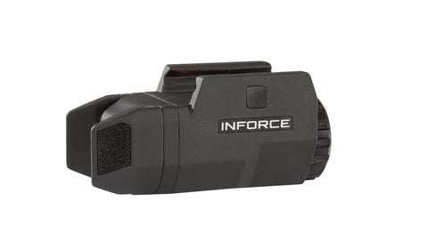 InForce APLc Compact WML Weapon Mounted White Light Auto Pistol 200 Lumens (Not Glock) - Black