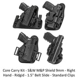 Alien Gear Holsters Core Carry Kit S&W M&P Shield 9mm - Right Hand