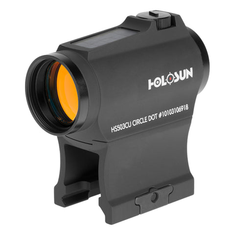 Holosun HS503CU Red Dot Sight 2 MOA and 65 MOA Reticle