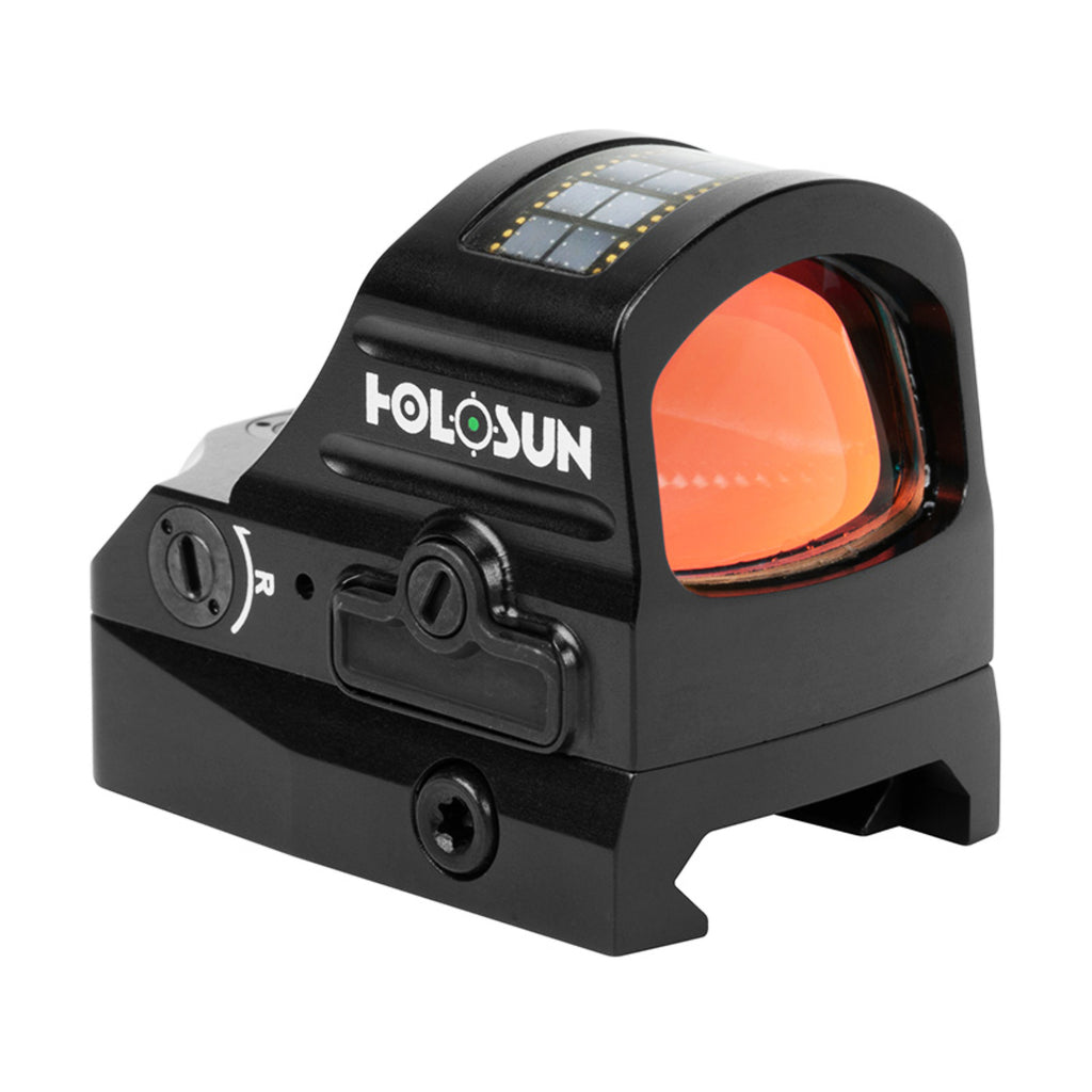 Holosun HE407C-GR V2 Open Reflex Sight Green Dot 2 MOA Reticle Solar Power