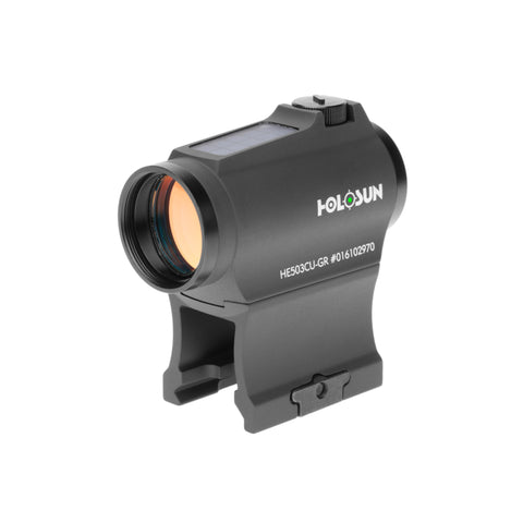 Holosun HE503CU-GR Green Dot Sight 2 MOA and 65 MOA Reticle