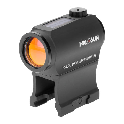 Holosun HS403C Red Dot Sight Solar Power 20mm Micro Sight - Black