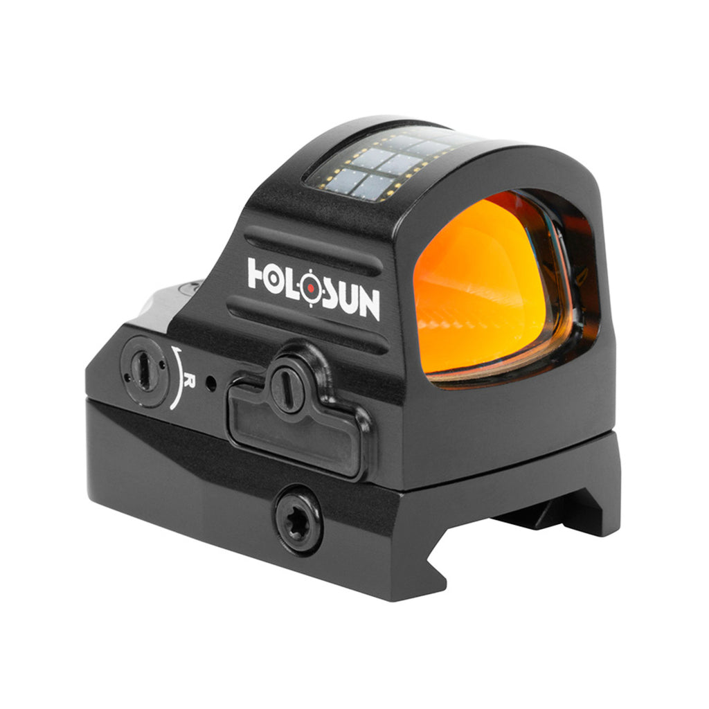Holosun HE407C V2 Open Reflex Sight Red Dot 2 MOA Reticle Solar Power
