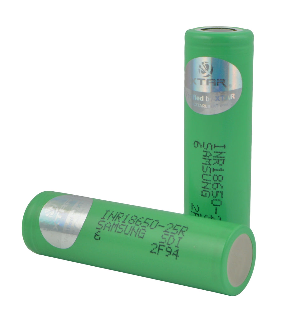 Verified Samsung INR 18650-25R Rechargeable High Drain 2500mAh Battery