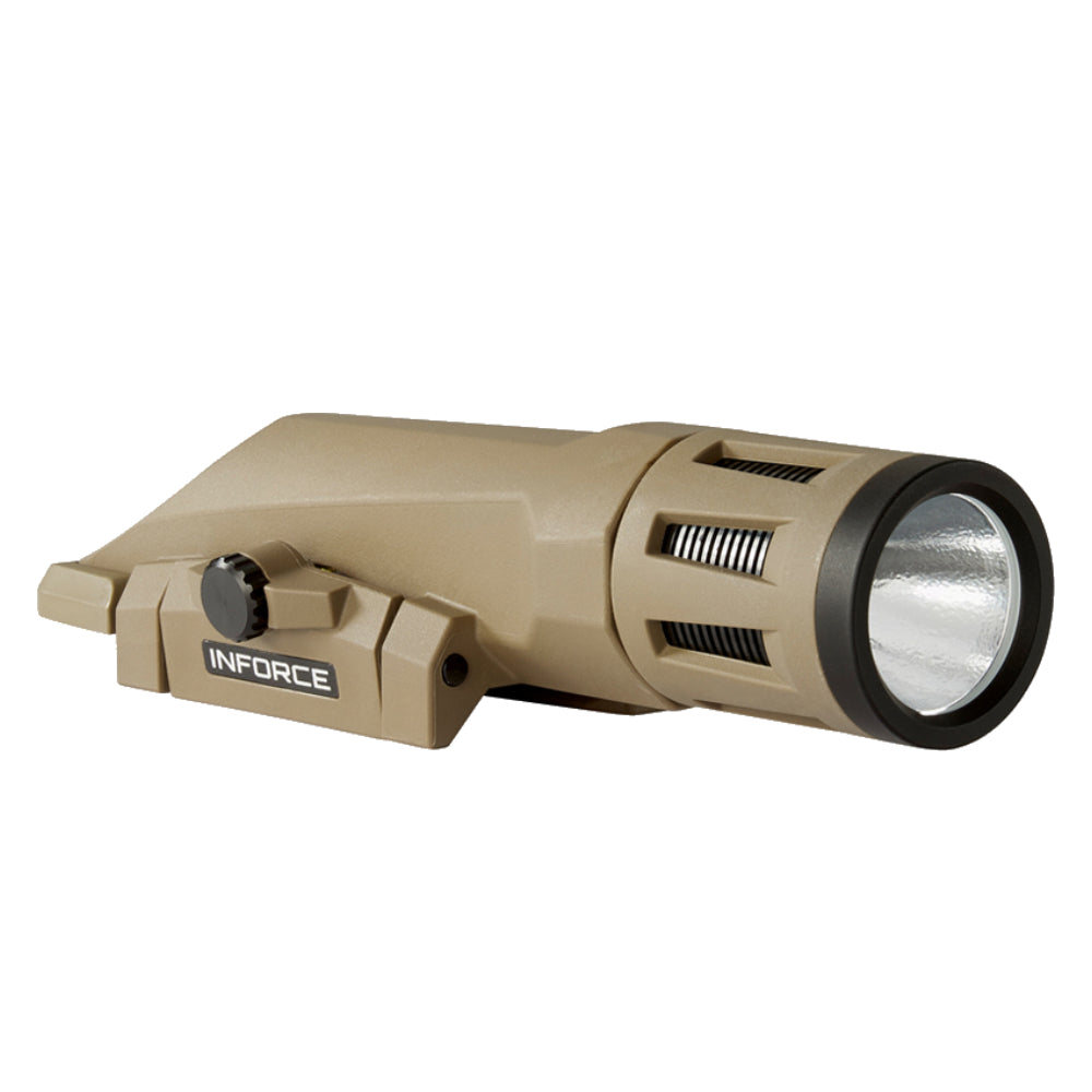 Inforce WMLx White Gen 2 LED Weapon Mounted Light 800 Lumens - WX-06-1