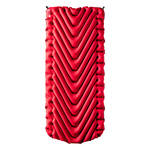 Klymit Insulated Static V Luxe Extra Wide Sleeping Pad for Cold Weather Camping