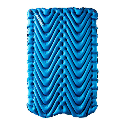 Klymit Double V Sleeping Pad, Lightweight 2 Person Sleeping Pad for Camping