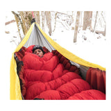 Klymit Insulated Hammock V Sleeping Pad for Single or Double Wide Hammocks