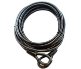 Steel Security Cable - Heavy-Duty, Vinyl Coated