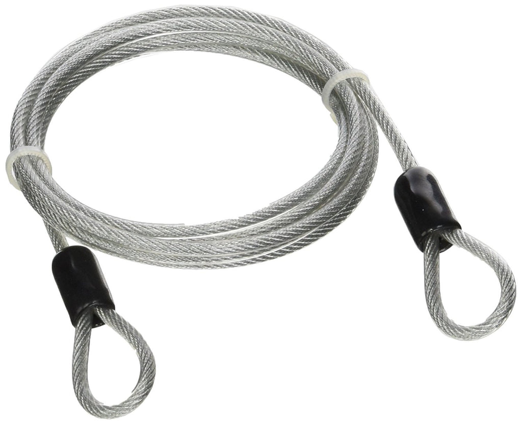Security Cable - 3 mm 4 ft Vinyl Coated Braided Steel