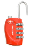 Travel Lock TSA Approved - Red