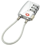 Cable Travel Lock 3 Digit Combination
